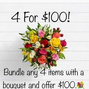 💐 4 For $100 💐